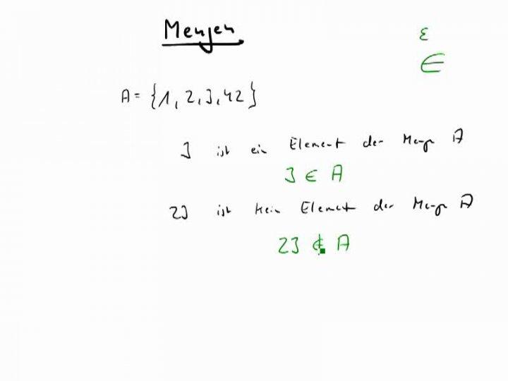 M1 2016-12-05 09 Der Begriff der Menge