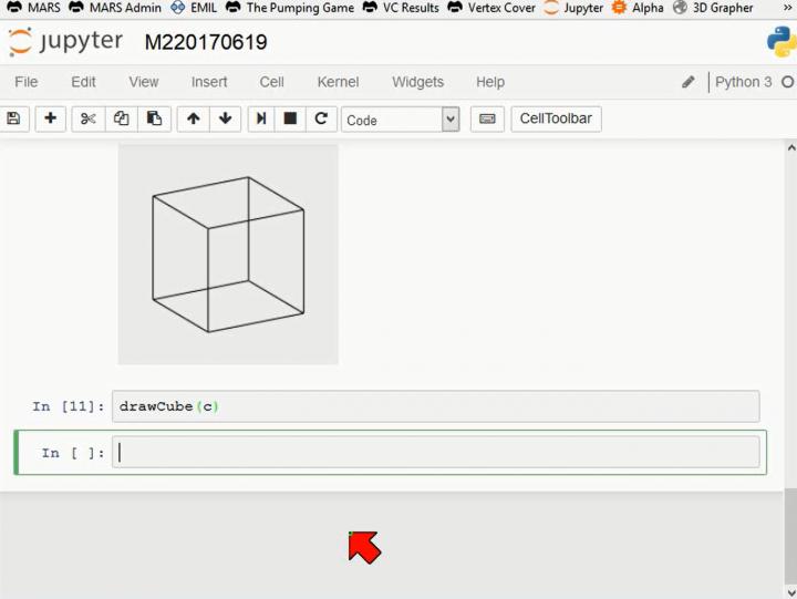 M2 2017-06-19 05 Dreidimensionale Darstellung - Parallelprojektion in Python