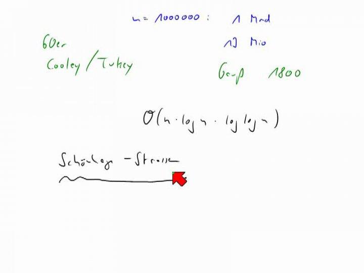 M2 2013-12-13 01 Anwendung - Karatsuba-Algorithmus