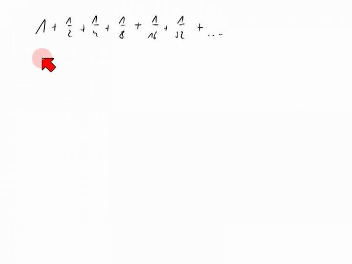 M2 2013-12-13 05 Definition der Reihenkonvergenz und Divergenz der harmonischen Reihe