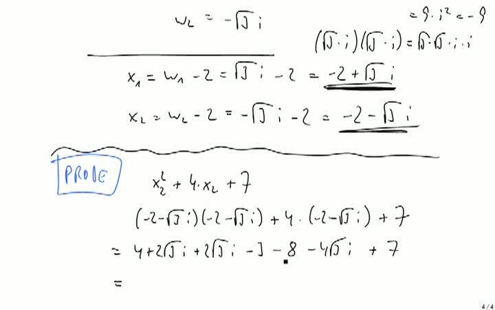 M2 2013-10-09 04 Lösen einer quadratischen Gleichung