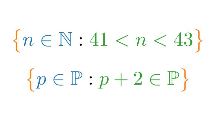 VK 2019-09-04 05 Unendliche Mengen und beschreibende Mengenschreibweise (Vorkurs Mathematik)