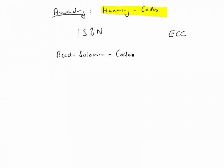 M2 2017-06-26 04 Fehlerkorrekturverfahren - Grundidee