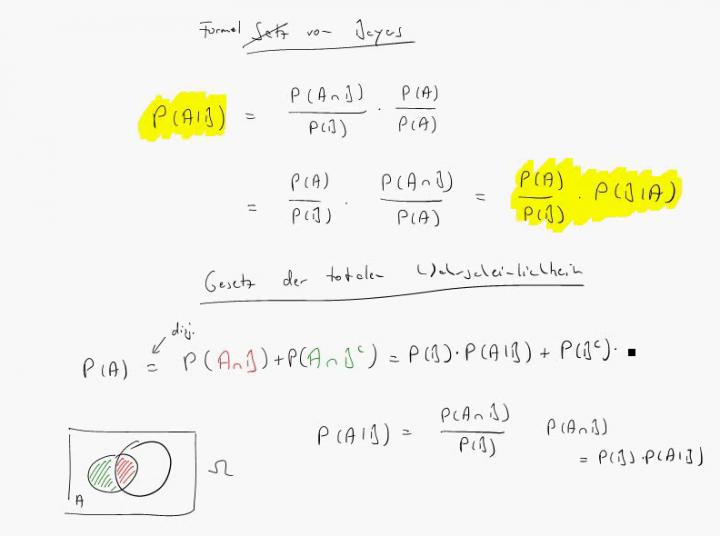 M4 2018-03-26 03 Formel von Bayes / Gesetz der der totalen Wahrscheinlichkeit