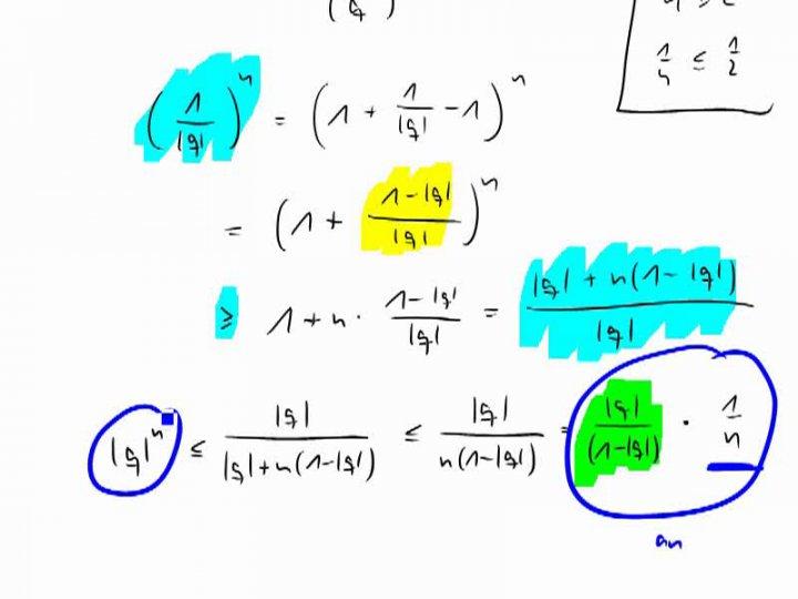 M2 2017-04-10 09 Vertiefung - Warum die geometrische Folge eine Nullfolge ist