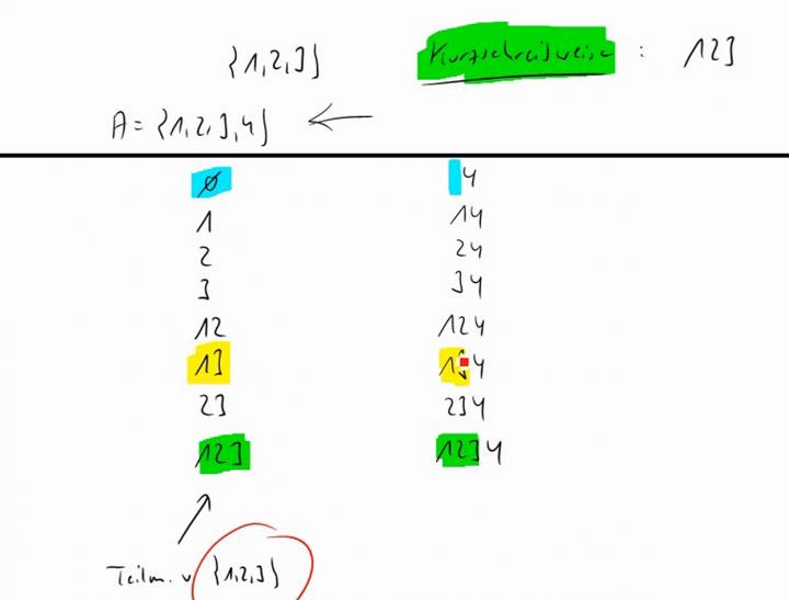M1 2014-10-13 01 Die Potenzmenge