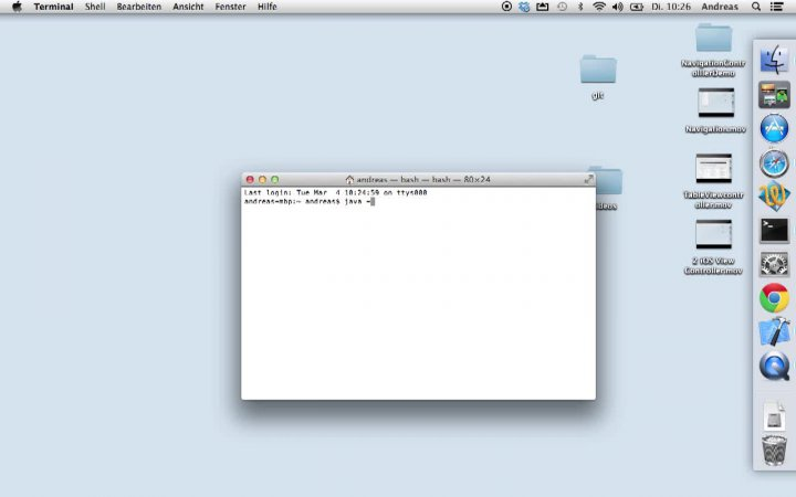 1. Installation Java (Mac)