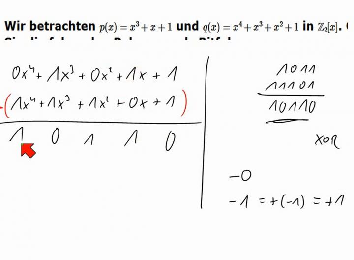 M2 2014-04-16 09 Arithmetik mit binären Polynomen (für CRC)