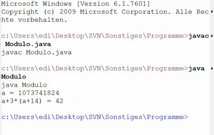 M2 2014-03-14 09 Modulare Arithmetik in Java