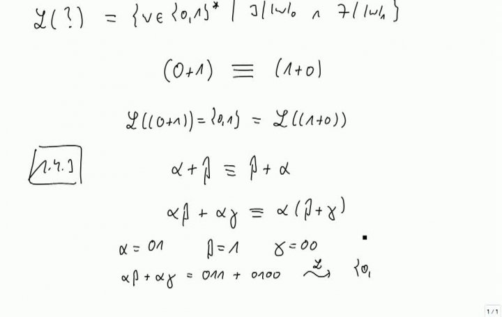 TI 2013-10-17 03 Reguläre Sprachen, Äquivalenz