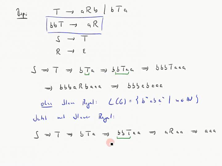 TI 2014-11-05 02 Ableitungen in formalen Grammatiken
