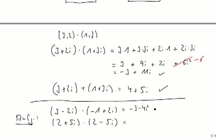 M2 2013-10-04 07 Komplexe Zahlen, Beispiel für Multiplikation