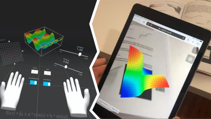 DD 2020-02-23 01 XR Graph - Kurven und Flächen in Virtual und Augmented Reality