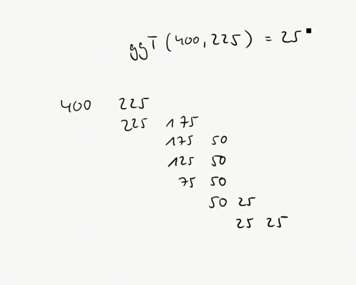 M1 2016-10-17 04 Der euklidische Algorithmus