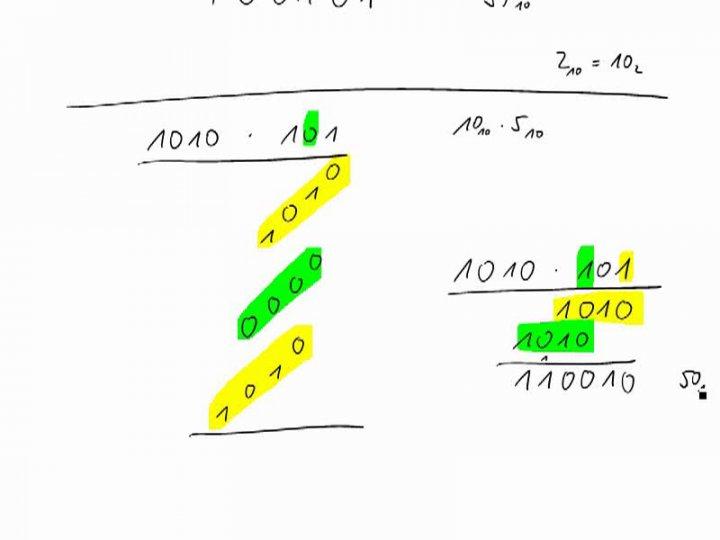 M1 2016-09-26 04 Rechnen im Binärsystem