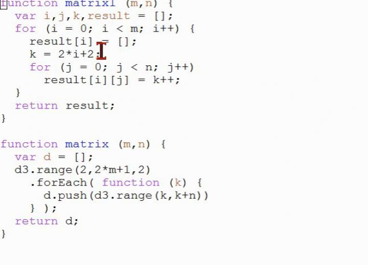 MINF 2014-04-08 07 Teilweise Lösung der Stundenübung zu D3.js