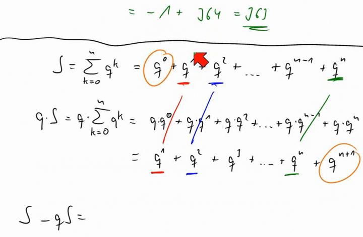 M1 2014-06-18 05 Die geometrische Summenformel