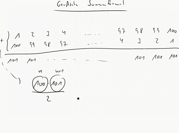M1 2014-12-01 01 Die arithmetische Summenformel
