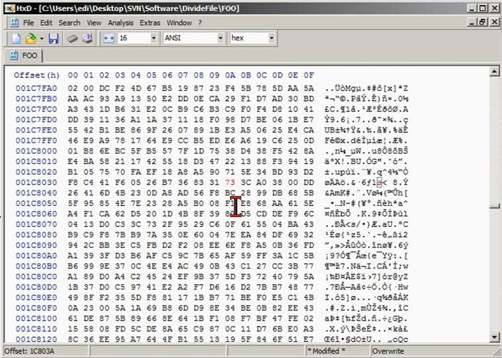M2 2014-01-17 01 Anwendung - randomisierter Dateivergleich