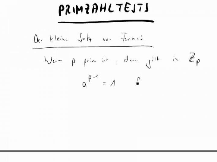 M2 2014-09-29 08 Der kleine Satz von Fermat