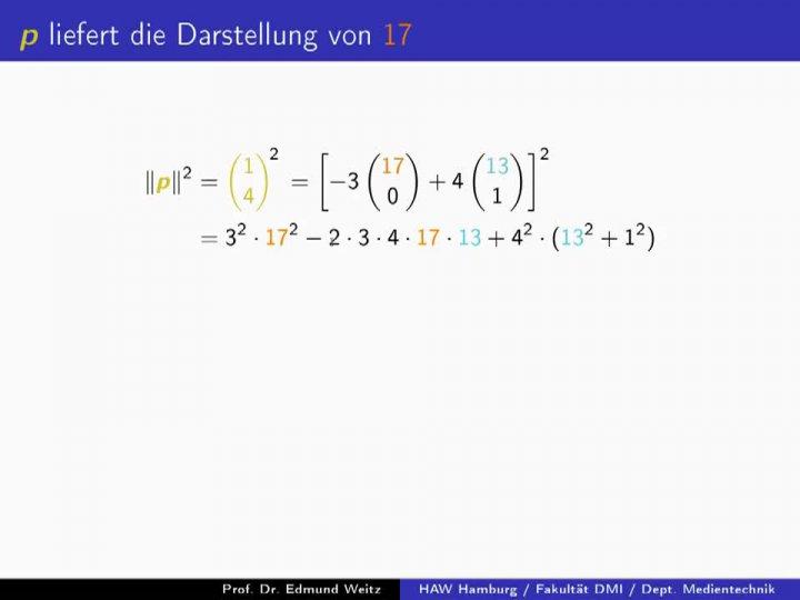 EM 2018-01-30 01 Der Zwei-Quadrate-Satz von Fermat