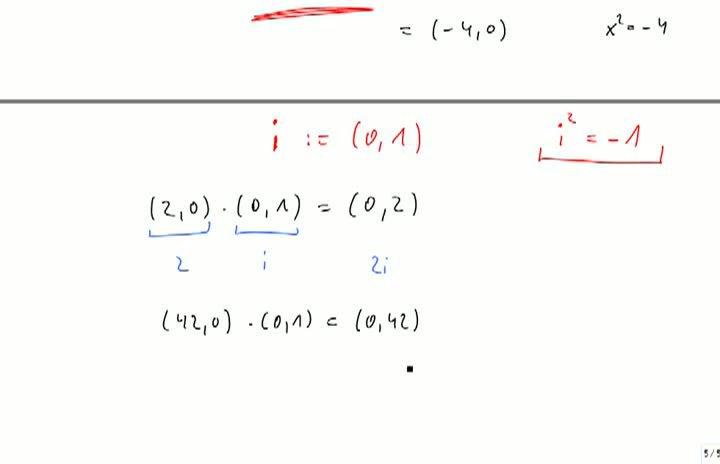 M2 2013-10-04 06 Komplexe Zahlen, kanonische Darstellung
