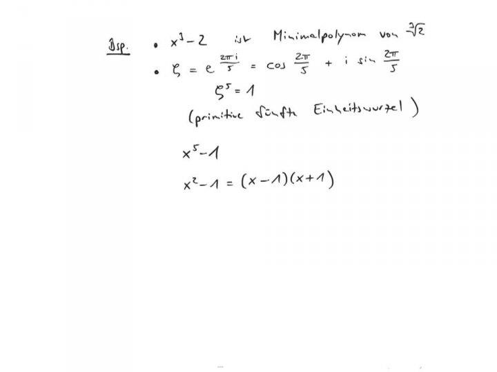 EM 2017-07-22 01 Algebraische Zahlen und Minimalpolynome