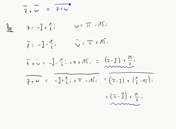 M2 2014-10-20 01 Eigenschaften der komplexen Konjugation