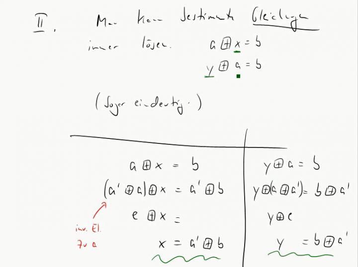 M2 2014-10-06 07 Einfache Eigenschaften von Gruppen
