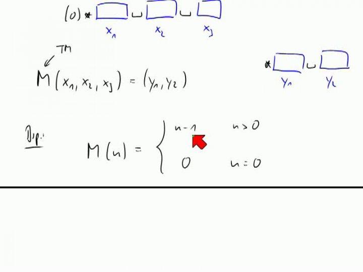 TI 2013-11-21 05 Berechenbarkeit und Entscheidbarkeit für Turing-Maschinen
