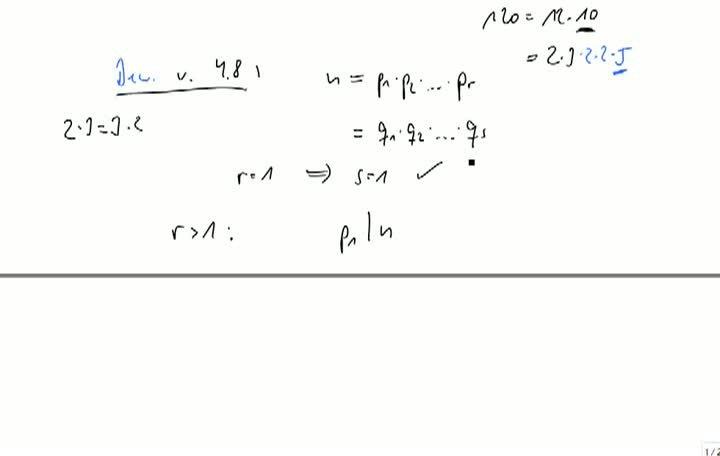 M2 2013-09-20 02 Fundamentalsatz der Arithmetik