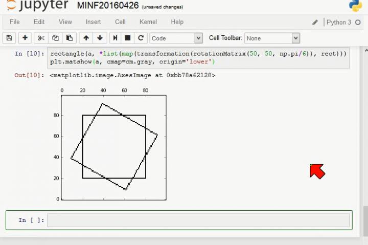 MINF 2016-04-26 01 Bewegungen mit homogenen Koordinaten