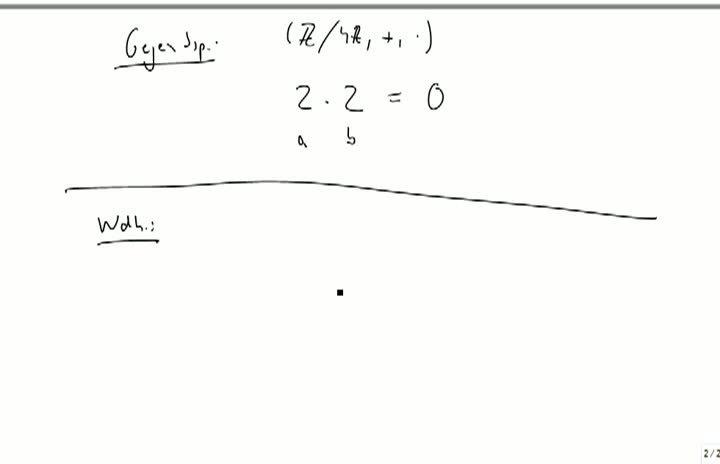 M2 2013-10-04 03 Wiederholung - Aufbau des Zahlensystems