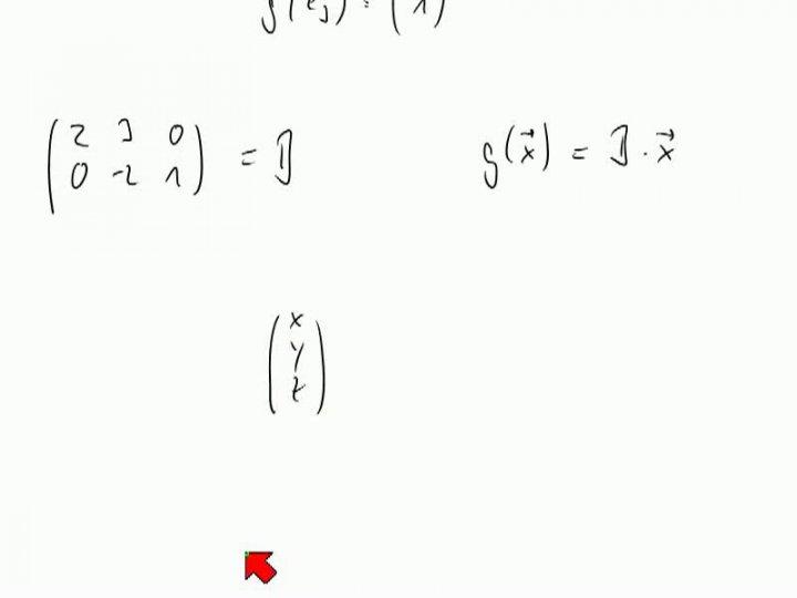 M2 2013-11-01 02 Matrizen zum Darstellen linearer Abbildungen