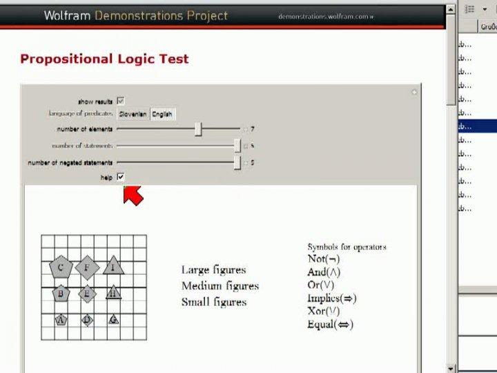 M1 2013-10-30 02 Logik-Beispiele von Wolfram