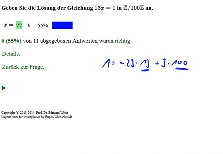 M2 2014-09-29 04 Dividieren in Restklassenringen