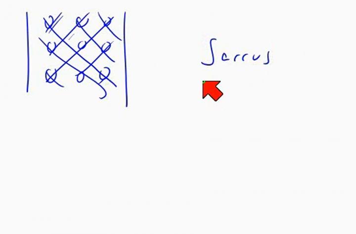 M2 2014-05-09 04 Determinanten und Matrixmultiplikation