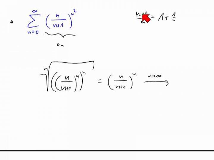 M2 2014-06-18 02 Quotienten- und Wurzelkriterium - Beispiele