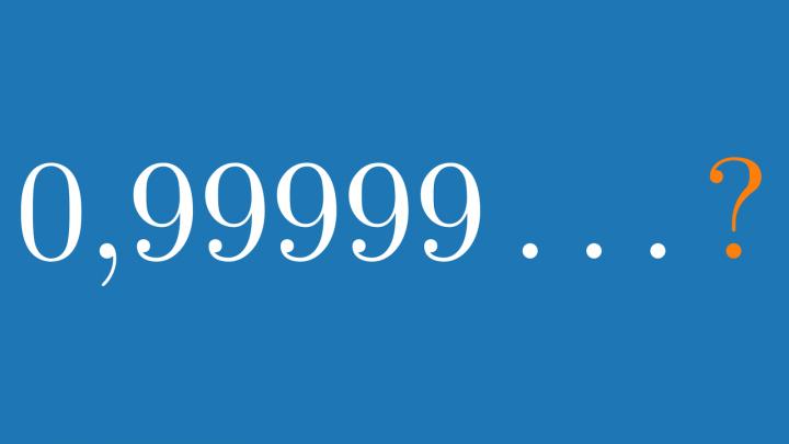 DD 2021-03-25 01 Ist 0,999... wirklich 1?  (Das Rätsel des Kontinuums)