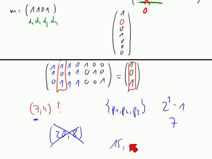M2 2013-11-06 11 Anwendung - Hamming-Codes, Teil 2