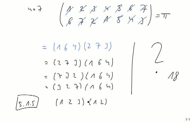 M2 2013-09-27 05 (Nicht-)Kommutativität von Zyklen