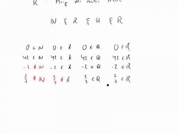 M1 2014-10-27 01 Das Kontinuum