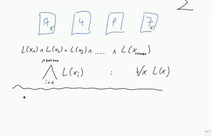 M1 2013-10-16 07 Prädikatenlogik, Beispiele mit Quantoren