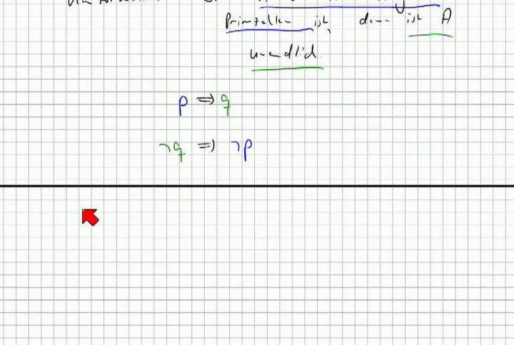 M1 2013-10-23 06 Beweisprinzipien - Kontraposition