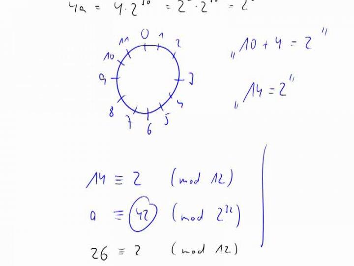 M2 2014-09-24 07 Modulare Arithmetik