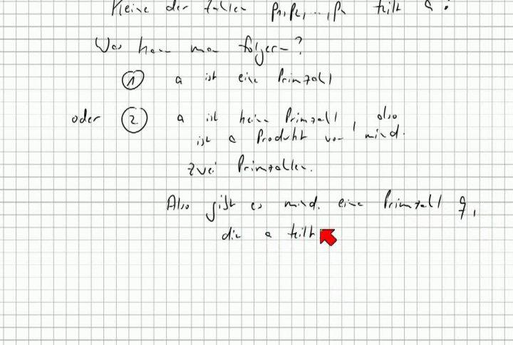M1 2013-10-23 07 Beweisprinzipien - Kontraposition, Fortsetzung