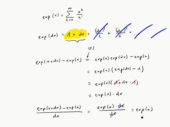 M3 2017-11-08 07 Die Ableitung der Exponentialfunktion