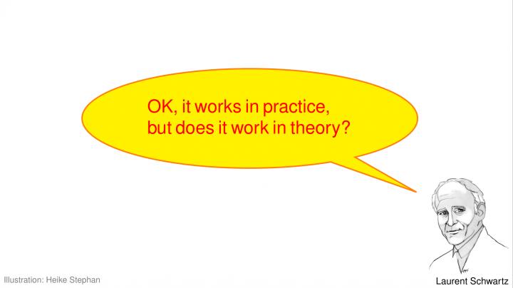 EM 2019-01-24 01 Was sind Distributionen?  Ist der Dirac-Impuls eine Funktion?