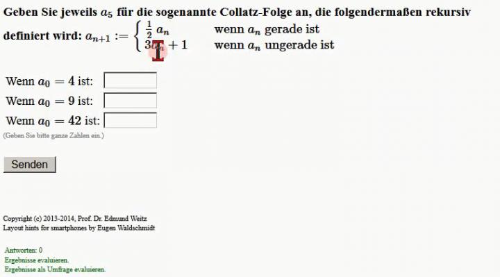 M1 2015-01-12 04 Die Collatz-Folge