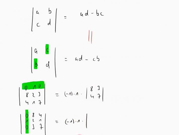 M2 2014-11-24 03 Eigenschaften von Determinanten